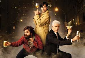 Hbo Developing Bored To Death Movie Reuniting Jason Schwartzman Zach Galifianakis Ted Danson Big Gay Picture Show