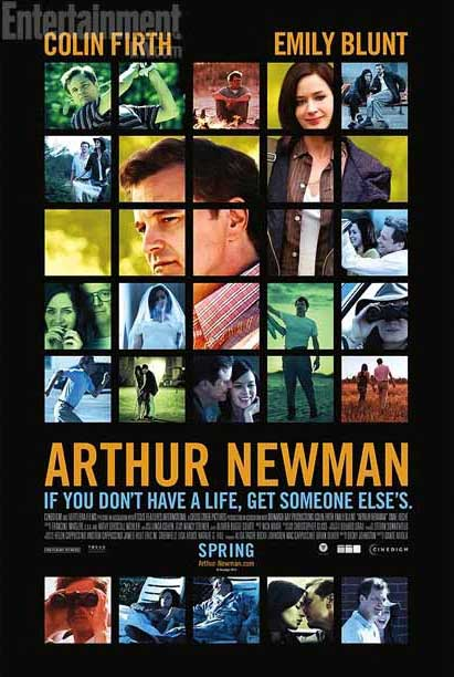 arthur newman trailer poster colin firth emily blunt pretend to be people they 39 re not. Black Bedroom Furniture Sets. Home Design Ideas
