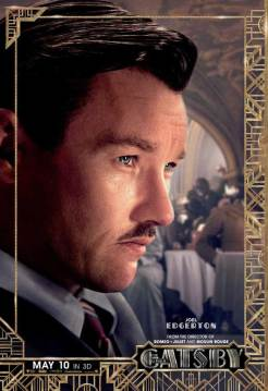 Joel Edgerton as Tom Buchanan