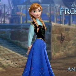 Anna (voice of Kristen Bell) - Anna is more daring than graceful and, at times, can act before she thinks. But she's also the most optimistic and caring person you'll ever meet. She longs to reconnect with her sister, Elsa, as they were close during their childhood. When Elsa accidentally unleashes a magical secret that locks the kingdom of Arendelle in an eternal winter, Anna embarks on a dangerous adventure to make things right. Armed with only her fearlessness, a never-give-up attitude and her faith in others, Anna is determined to save both her kingdom and her family.