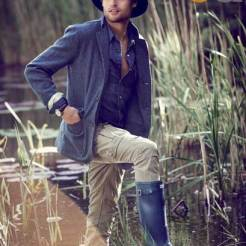 Douglas Booth for GQ