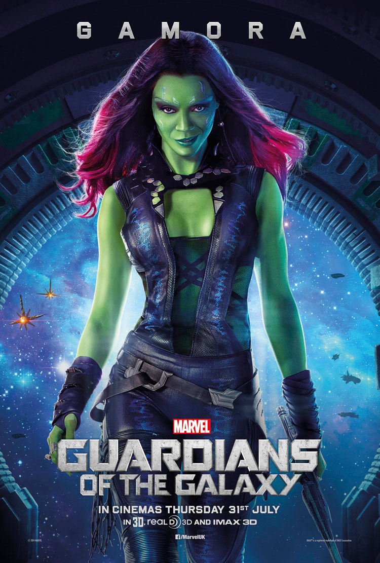 Guardians-of-the-Galaxy-Gamora-uk-poster