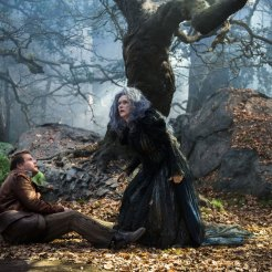 Meryl Streep & James Corden in Into The Woods