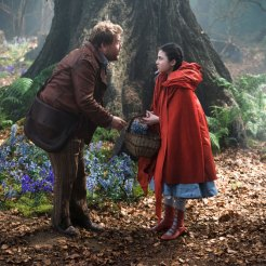 James Corden & Lilla Crawford in Into The Woods