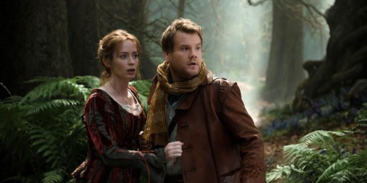 James Corden & Emily Blunt in Into The Woods