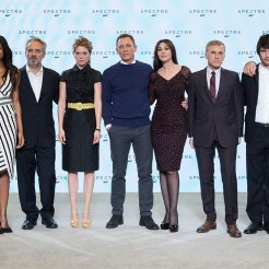 Spectre cast at launch event