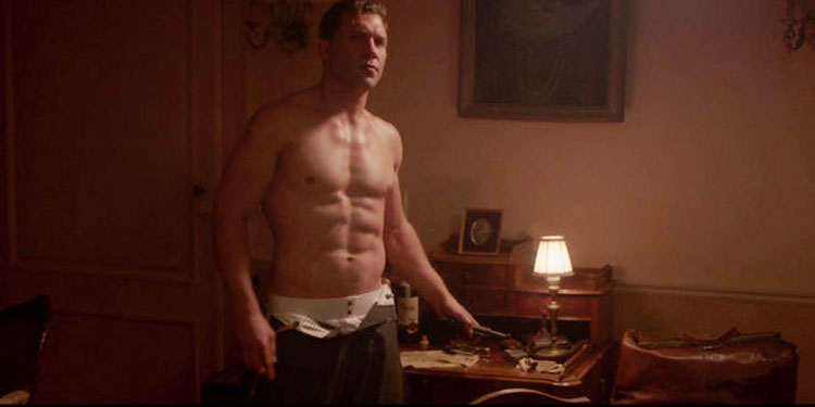 Crush Of The Day: Jai Courtney Strips Completely Naked In The Exception (NSFW)