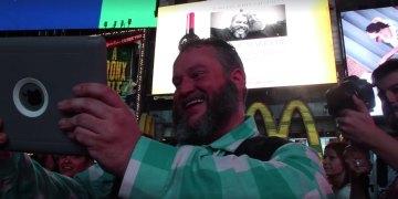 "BearCity Director Doug Langway Shows Off His<span class=""pt_splitter pt_splitter-1""> Epic Long-Distance Marriage Proposal</span>"