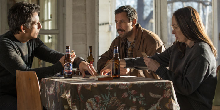 Trailer For The Meyerowitz Stories with Adam Sandler and Ben Stiller