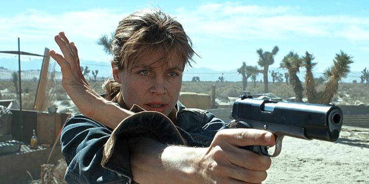 Linda Hamilton returning for Terminator 6