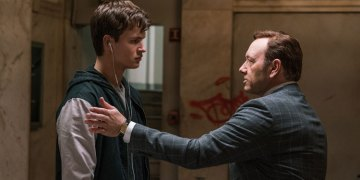 """Baby Driver (Blu-ray Review)<span class=""""pt_splitter pt_splitter-1""""> – Kevin Spacey coerces a young man for director Edgar Wright</span>"""