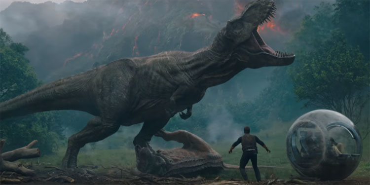 Fallen Kingdom' Super Bowl Trailer is Here!