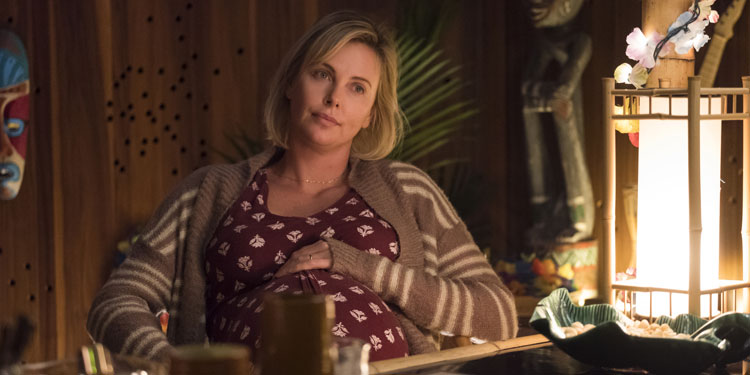 Tully Trailer Has Charlize Theron Struggling with Motherhood