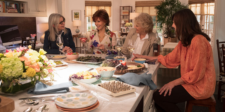 Book Club (DVD Review) - A cast of living legends reads Fifty Shades of Grey - Big Gay Picture Show