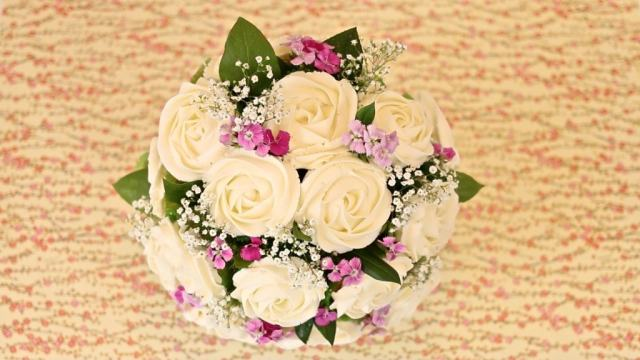 Cupcakes, Bouquet, Mother's Day, Gemma Stafford, Bigger Bolder Baking