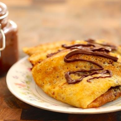 Homemade Nutella & Crepes
