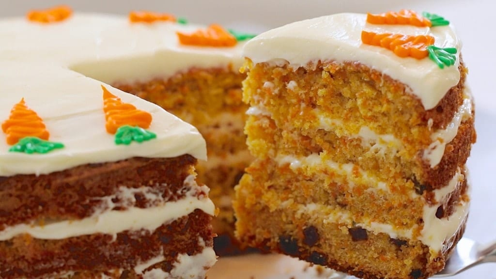 Best Ever Carrot Cake Amp How To Make Cream Cheese Frosting