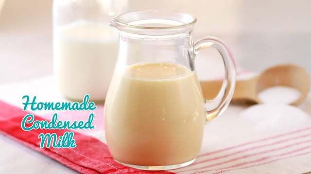 How to Make Homemade Condensed Milk, Homemade Condensed Milk, Condensed Milk, How to Make Condensed Milk, Gemma Stafford, Bold Baking Basics, Bigger Bolder Baking, Recipes