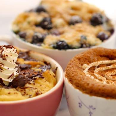 Microwave Mug Breakfasts - 3 Amazing Breakfast Recipes