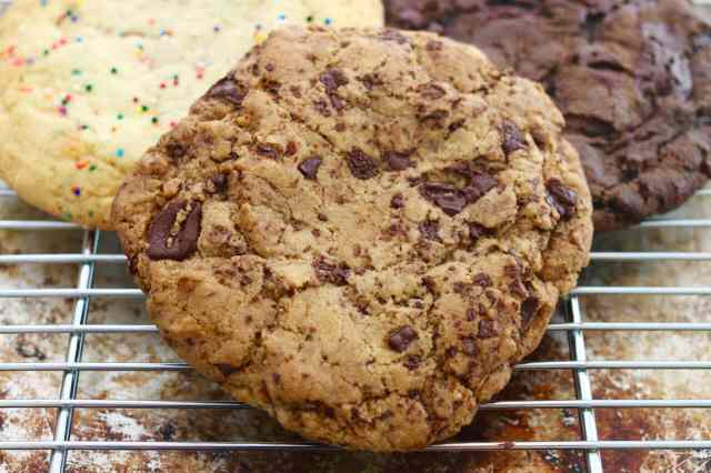 Homemade, Giant, Single-Serving, Cookies, Chocolate chip, Sugar cookie, Double chocolate chip, Gemma Stafford, Bigger Bolder Baking, Baking, Baking videos, Recipes, How to make giant cookies