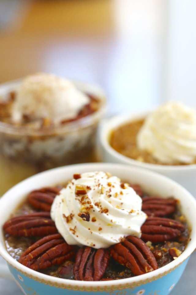Fall, Microwave, Mug, Pies, Pumpkin, Apple, Pecan, Gemma Stafford, Bigger Bolder Baking, Recipes, Baking, Baking videos, How to make mug pies
