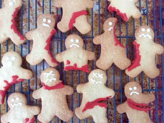 Halloween Zombie Cookies