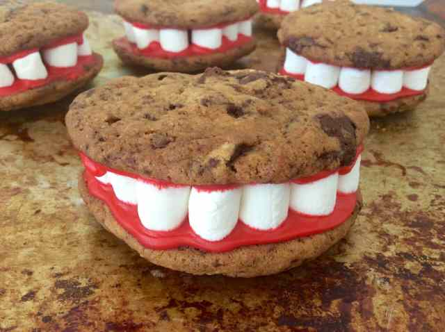 Halloween Monster Cookie Mouth