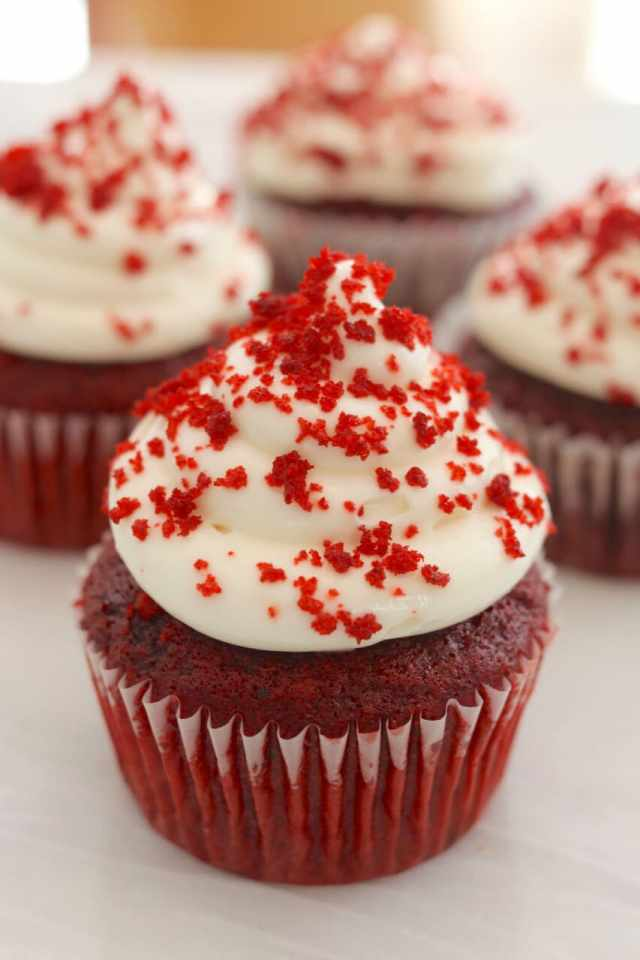Cupcakes, Small-Batch Cupcakes, Red Velvet Cupcakes, S'mores Cupcakes, Chocolate Chip Cookie Dough Cupcakes, How to make cupcakes, Gemma Stafford, Bigger Bolder Baking, Toaster Oven Recipes, Recipes