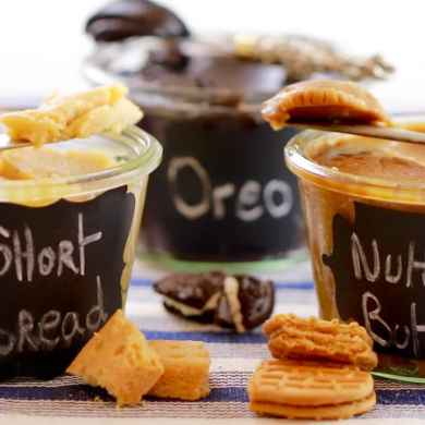 3 Homemade Cookie Butters