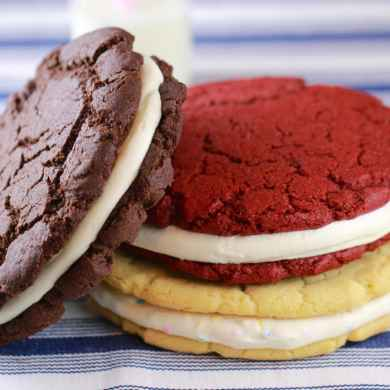 GIANT Single-Serving OREO Cookies (Chocolate, Red Velvet & Birthday Cake)