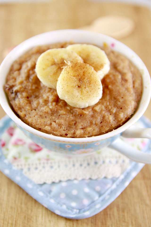 Microwave mug cake recipes, Microwave Peanut Butter & Banana Mug Cake, healthy mug cake, healthy breakfast, healthy breakfast muffin, High protein muffin, gluten free recipes, healthy recipes,Microwave mug Meal recipes, Microwave Mug Meals, Microwave meals, microwave cooking, Mug cakes, Microwave mug, 1 minutes Microwave mug cakes, 1 minutes Microwave mug recipes, Microwave meals, Microwave recipes, recipes for students, recipes for college, Easy dinner recipes, Healthy meals, healthy recipes, Easy lunch recipes,Easy breakfast recipes,Easy snack recipes, quick recipes, affordable recipes, Gemma Stafford, Bigger Bolder Baking, bold baking, cheap recipes, easy meals
