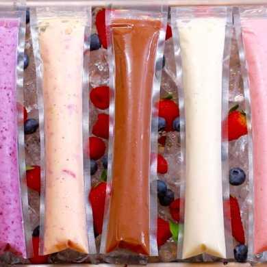 Frozen Yogurt Pops (5 Easy Snacks)