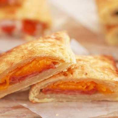 Ham and Cheese Savory Pop-Tarts
