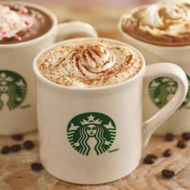 Homemade Starbucks Drinks (Pumpkin Spice Latte, Salted Caramel Hot Chocolate & Peppermint Mocha)