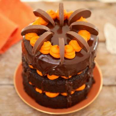 Best-Ever Chocolate and Orange Cake
