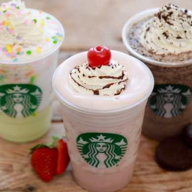 Starbucks Frappuccinos Secret Menu