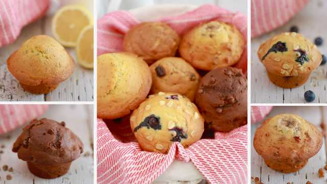 Crazy Muffins - One Easy Muffin Recipe with Endless Flavor Varieties!