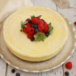Microwave 'Baked' Cheesecake - Yes, you read it right, a whole Cheesecake MADE IN THE MICROWAVE!!!!