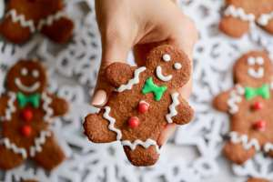 Homemade Gingerbread Men