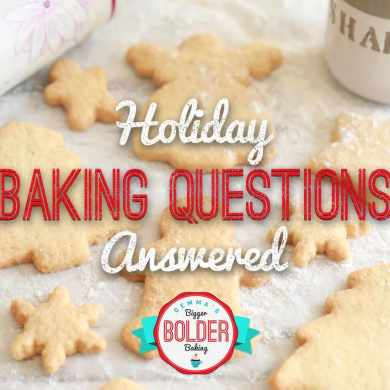 Ask Gemma...Your Holiday Baking Questions Answered!