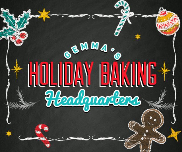 holiday baking, christmas baking