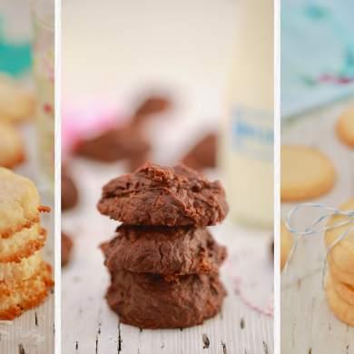3 Ingredient Cookies: Three NEW Cookie Recipes!