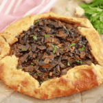 Do you like mushrooms? This galette recipe is for you!