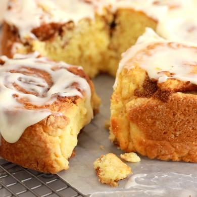 1-Hour No-Yeast Cinnamon Rolls Recipe