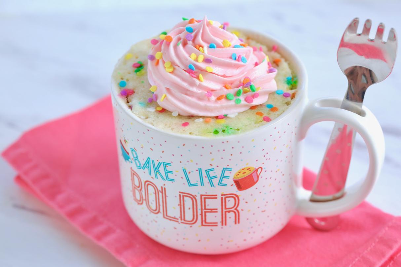 gemma s best ever vanilla mug cake
