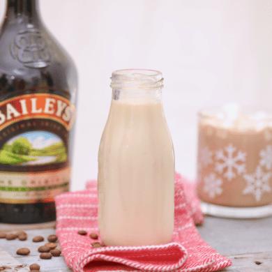 Homemade Bailey's Coffee Creamer