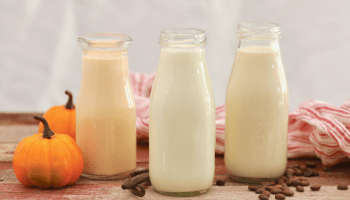 Homemade Coffee Creamer In 3 Flavors (Bailey's, French Vanilla, Pumpkin Spice)