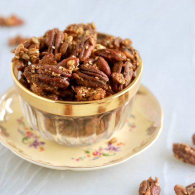 Sugar Free Candied Spiced Nuts