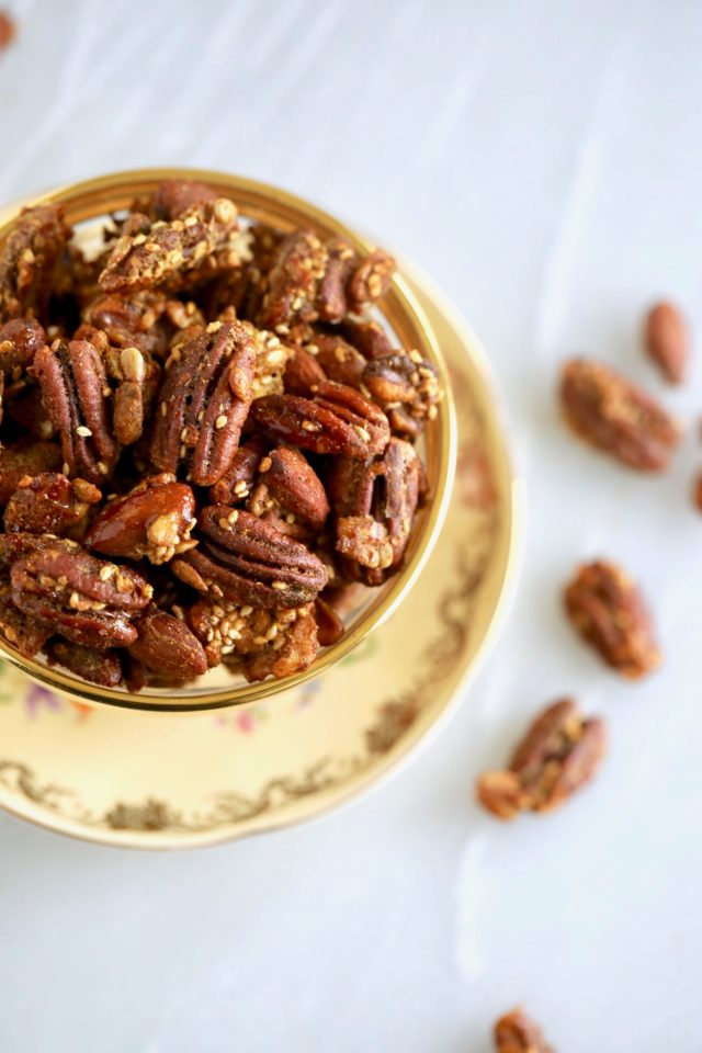 spiced nuts, spiced nuts recipe, candied spiced nuts, candied nuts, candied nuts recipe, sugar free candied spiced nuts, sugar free candied nuts,