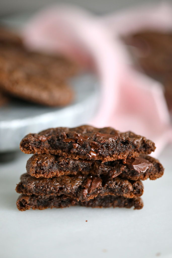 flourless cookies, flourless chocolate cookies, flourless cookies recipe, flourless double chocolate cookies, flourless cookie, homemade flourless cookies, homemade flourless chocolate chip cookies